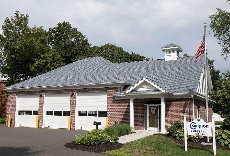 Campion Ambulance Service at 3 Country Club Rd. in Cheshire, Friday, July 28, 2017. | Dave Zajac, Record-Journal