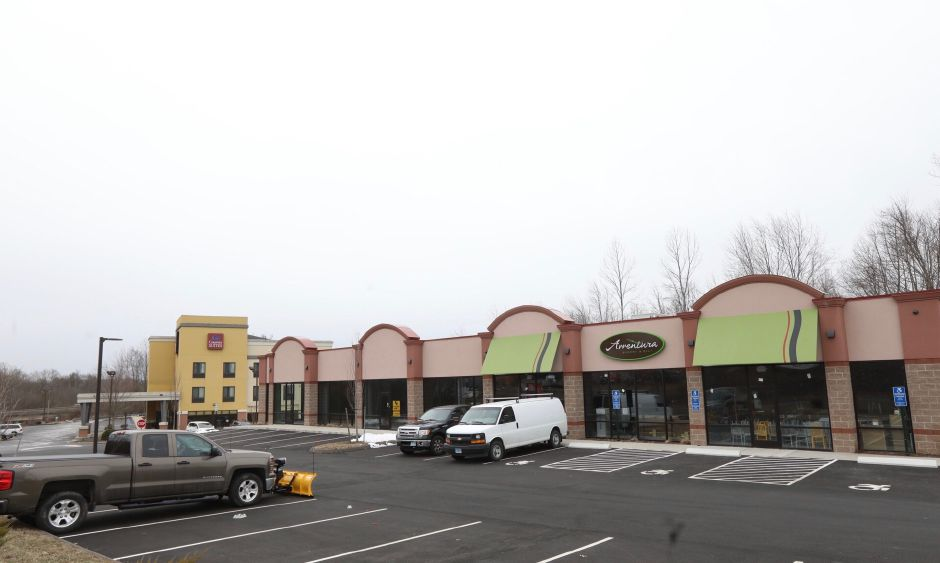Proposed location for a medical marijuana dispensary at 30 Knotter Dr. next to the Comfort Suites in Southington, Wednesday, March 21, 2018. | Dave Zajac, Record Journal