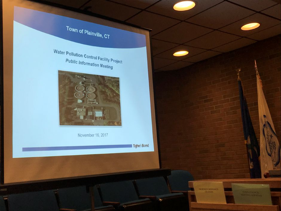 Plainville public information meeting on phosphorus removal project