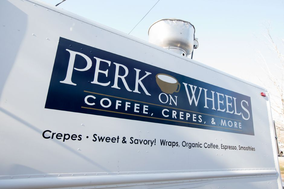 The owner of Perk on Main has opened a food truck called Perk on Wheels after the businesses lease was not renewed Thursday in Durham December 28, 2017 | Justin Weekes / Special to the Record-Journal