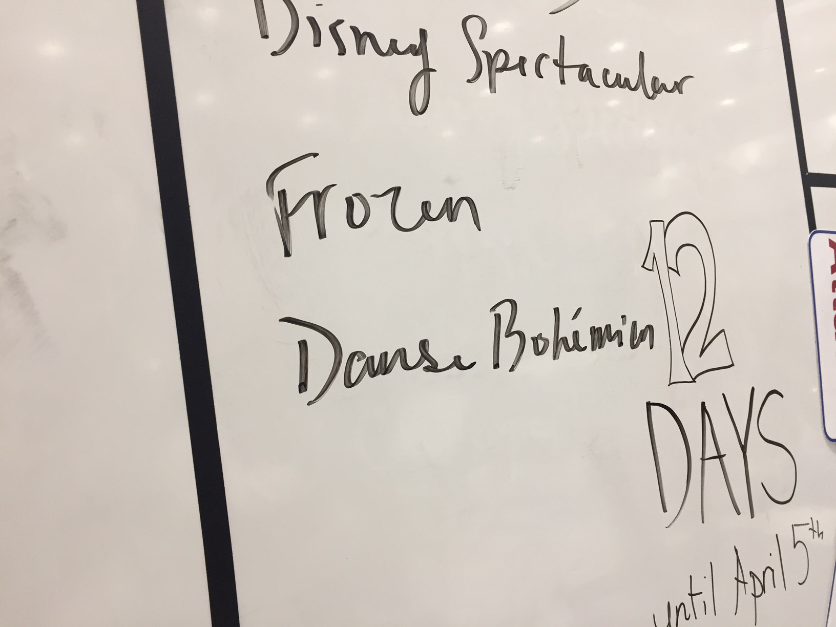 The Berlin High School band rehearsed a medley of Disney songs for their upcoming trip to Disney World next month. Friday, March 24. |Ashley Kus, The Berlin Citizen