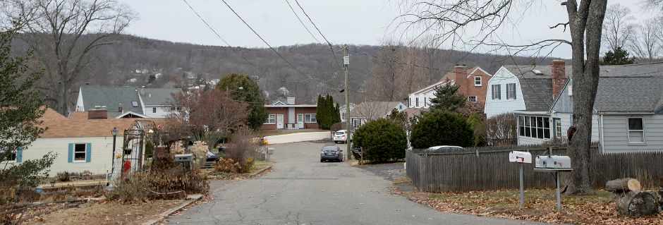Houses on Lakeview Place in Middlefield, Friday, Dec. 8, 2017. Several residents are concerned that their small privately owned water company, Rainbow Springs Water System, made a request to cease operations and abandon its water system. Neither the town nor other water utilities want to take over the Rainbow Springs system. Dave Zajac, Record-Journal