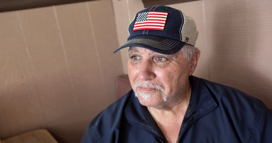 "Longtime city resident and Vietnam Veteran Renato ""Ray"" Maratea is the grand marshal of this year's Memorial Day parade, Fri., May 24, 2019. Dave Zajac, Record-Journal"