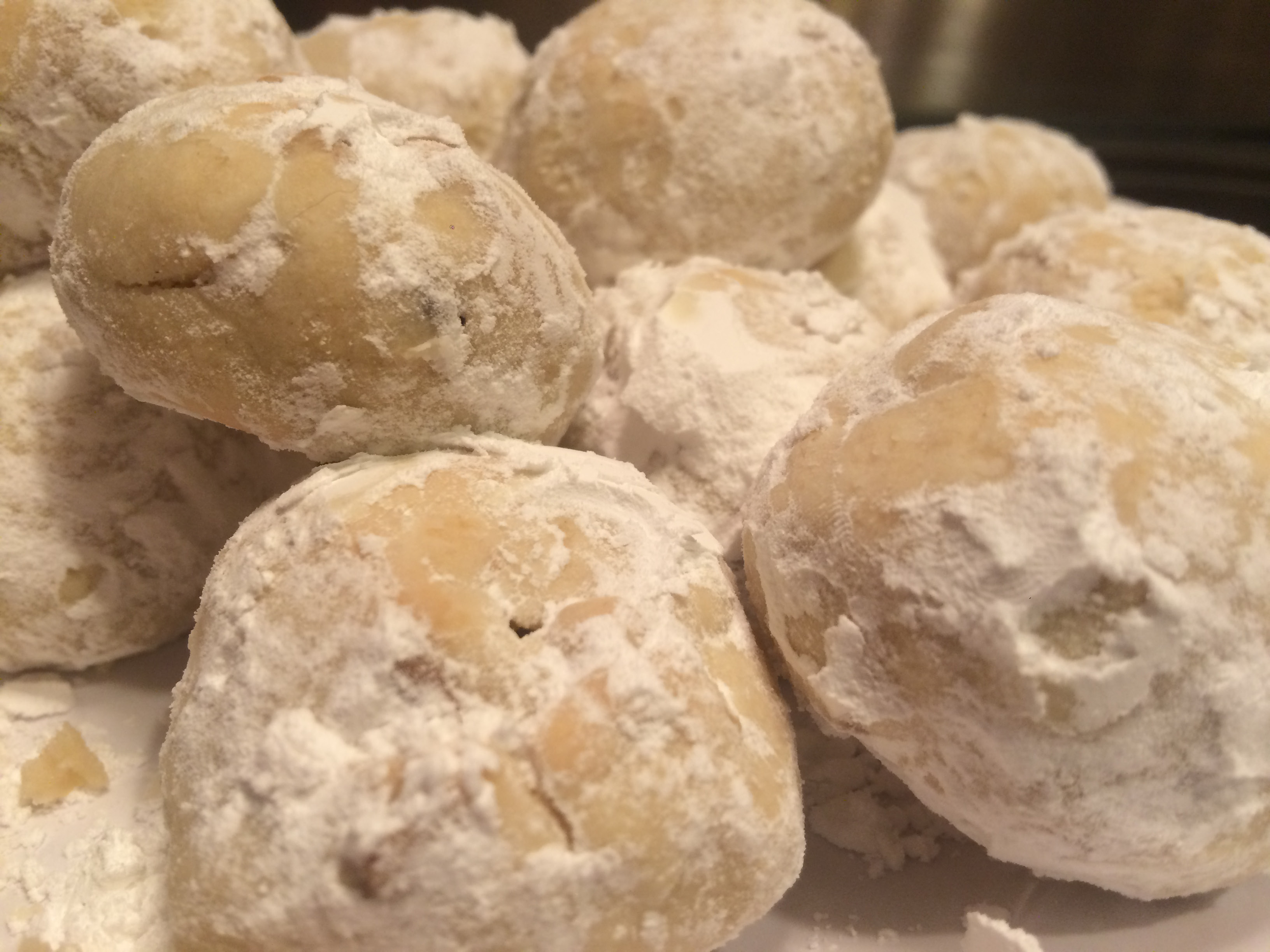 This simple snowball cookie recipe requires just confectioners' sugar, vanilla, flour, butter and walnuts. | Farrah Duffany/ Record-Journal