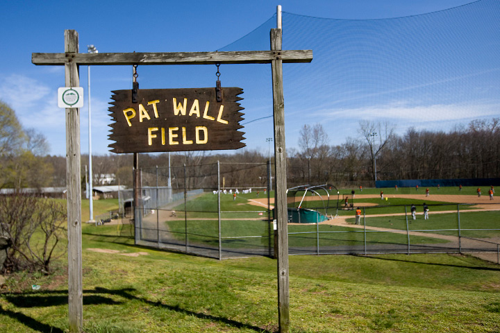 Pat Wall field in Wallingford, Monday, April 18, 2016. The Planning and Zoning Commission approved a plan to expand the parking area at Pat Wall Field.   |  Dave Zajac / Record-Journal