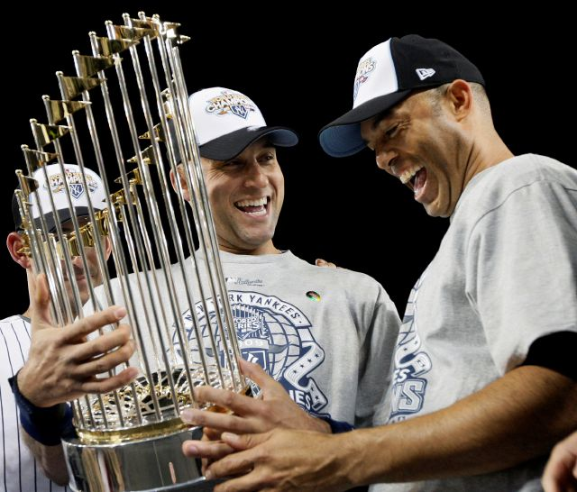 FILE - In this Nov. 4 ,2009, file photo, New York Yankees