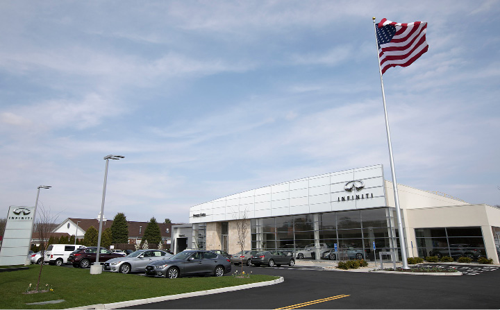 A Look Thursday At The Newly Opened George Harte Inifiniti Dealership At  1076 S.