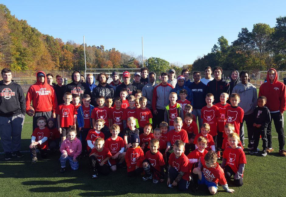 The Berlin Bears Flag Football program is run by the Berlin High School varsity football players, who volunteer their time every Saturday morning  coordinated by BHS assistant coach John Paul Demko. Flag football players range in age from 3 to 8.