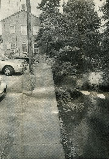 Aug. 1997: A property along the Quinnipiac River in Plantsville, 53 W. Main St., was the originally site of an underground oil tank leak into the river three months earlier. The state and federal cleanup effort cost $2.2 million. Eight years earlier, the town received the 7,000 square foot parcel as part of a land swapping deal with a group of developers led by local builders. | Record-Journal archive