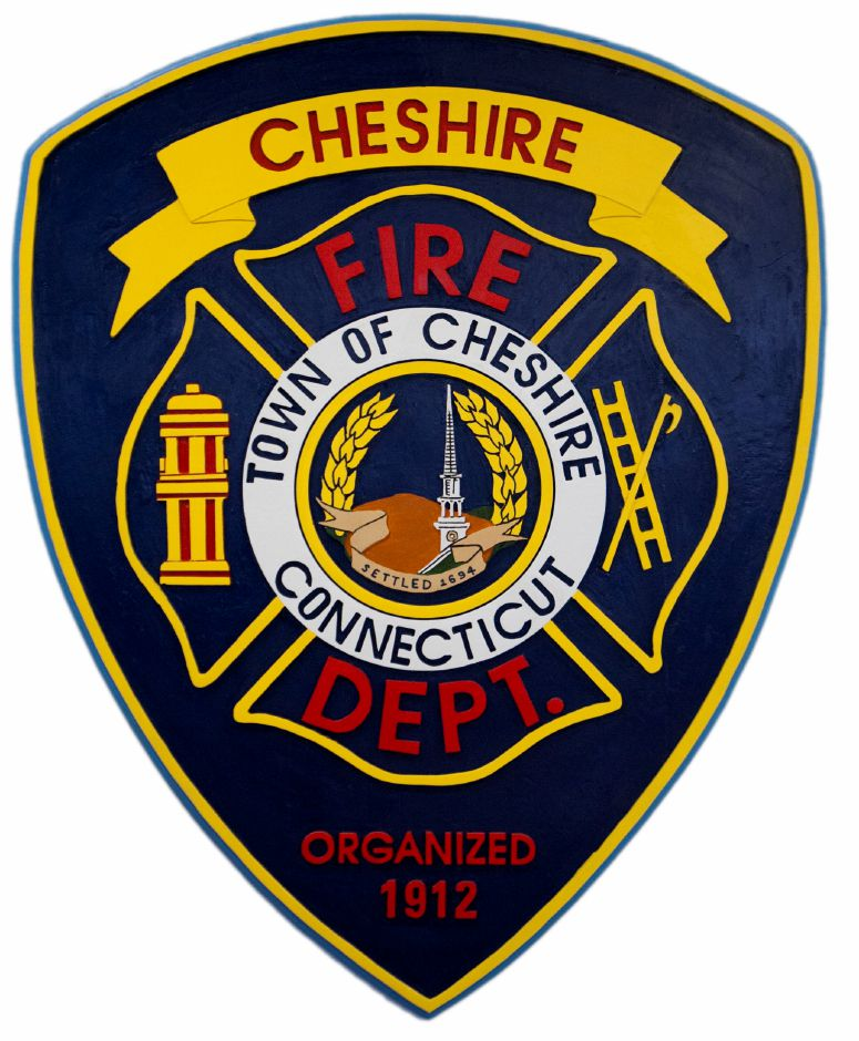 Cheshire Fire Department official seal. (Courtesy of the Cheshire Fire Department)