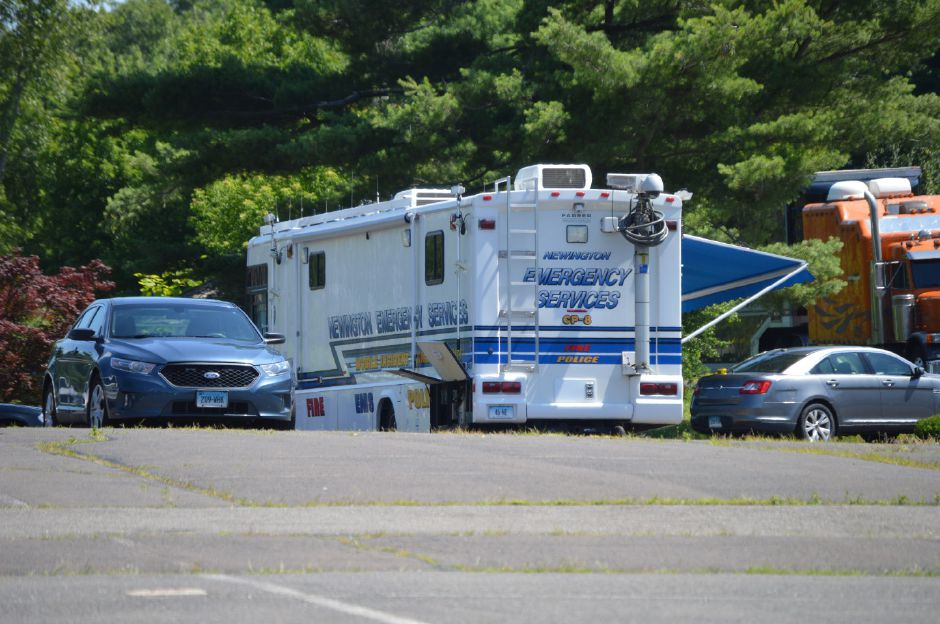 FILE PHOTO –  State and local police investigate a suspicious death Sunday at the Days Inn Motel in Berlin. | Mike Savino, Record-Journal