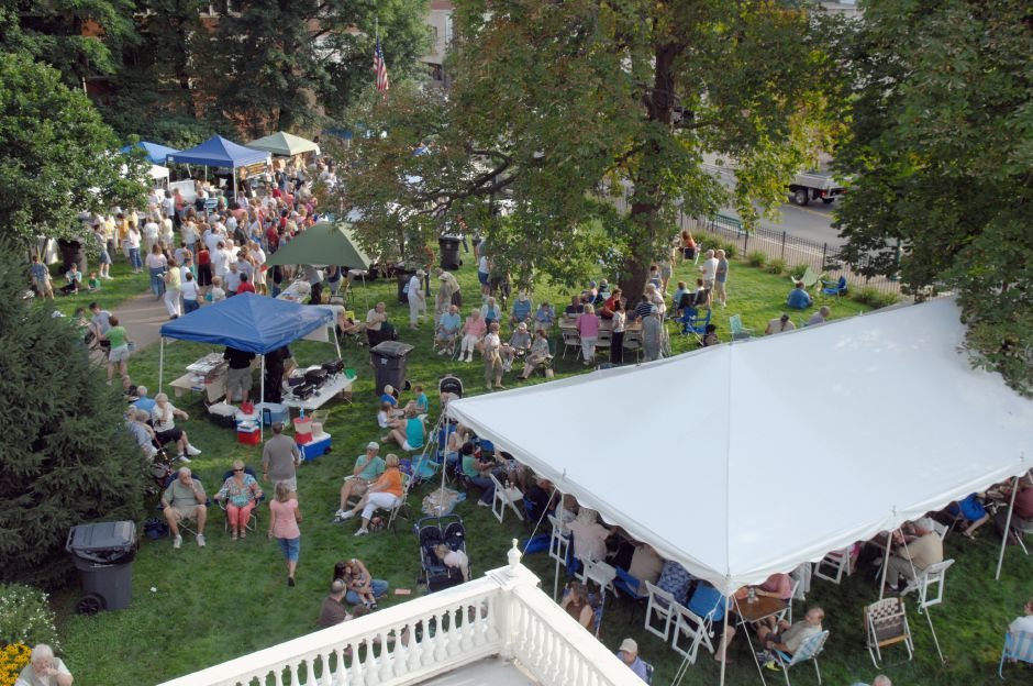 Fourth on TripAdvisor.com's list of things to do in Southington is the Barnes Museum, 85 N. Main St. In this file photo, crowds fill the grounds during the Seventh Annual Taste of Southington, Aug. 13, 2008. Rob Beecher / Record-Journal