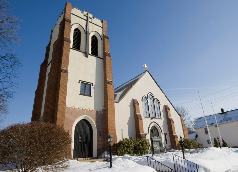 SS. Peter & Paul Catholic Church at 139 North Orchard St. in Wallingford, Wednesday, February 25, 2015. | Dave Zajac / Record-Journal