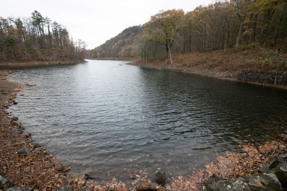 Merimere Reservoir in Meriden, Monday, Nov. 13, 2017. | Dave Zajac, Record-Journal