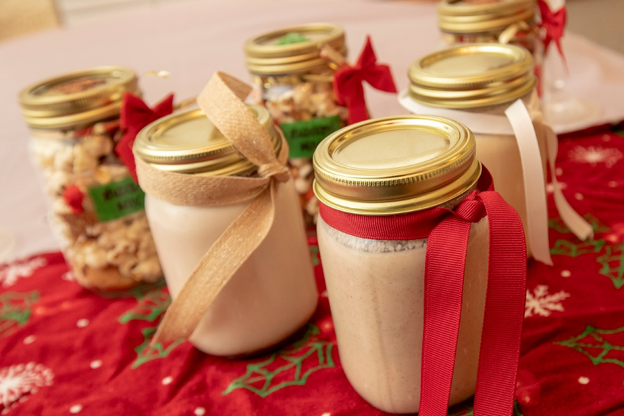 A variety of healthy eggnog for the holidays, Mon., Dec. 17, 2018. Dave Zajac, Record-Journal