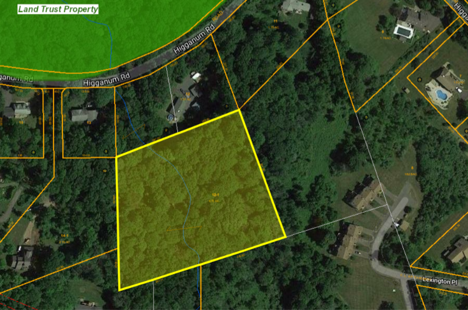 Location: Higganum Road, Parcel ID: C0057300 * 4.72 acres * Map 60 – Lot 12.1. The town of Durham is considering selling this town-owned parcel.
