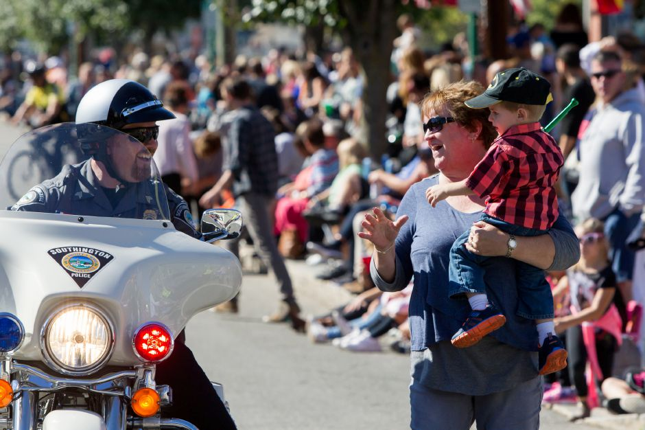 Sunday during the 49th Apple Harvest Parade in Southington October 1, 2017 | Justin Weekes / For the Record-Journal