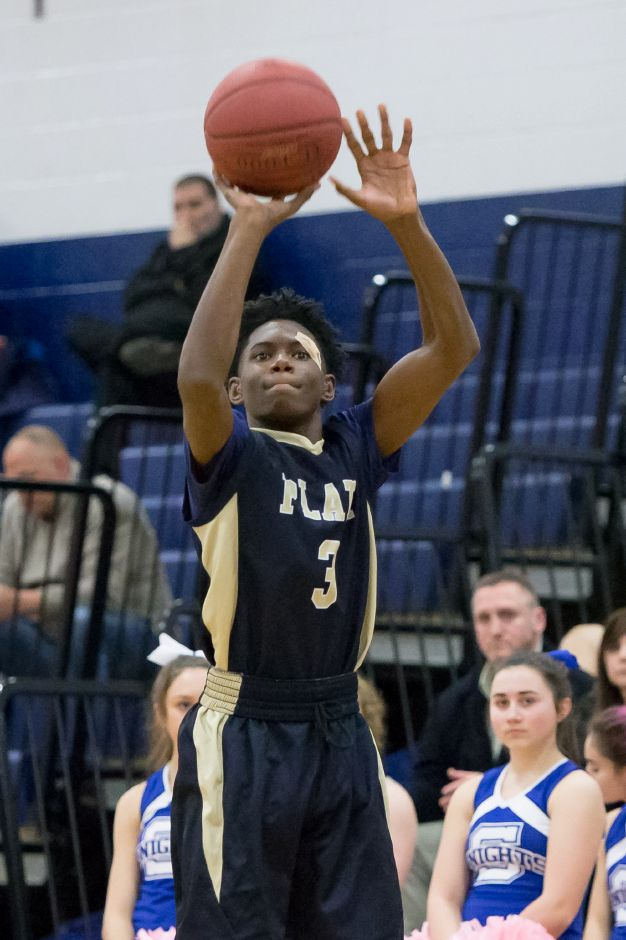 Malcolm Andrews scored a team-high 24 points to lead Platt against Berlin on Friday night. | Justin Weekes / Special to the Record-Journal