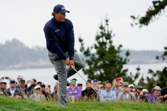 Phil Mickelson, seen here last week at Pebble Beach in the U.S. Open, returns to River Highlands this week for the first time since 2003. He won the tournament in 2001 and 2002.  Carolyn Kaster, Associated Press