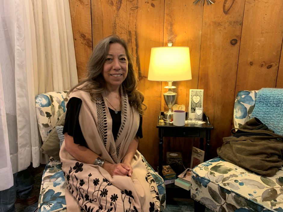 Lisa Catherine is the newest addition to the Red Barn in Durham. Catherine offers holistic skincare services as well as energy work. Photo by Everett Bishop, Town Times