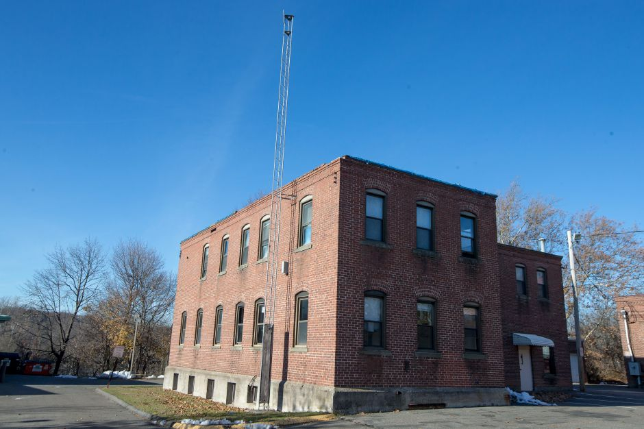 The Civil Defense building on Washington Avenue has been proposed by the town for demolition Friday November 23, 2018 | Justin Weekes / Special to the Record-Journal