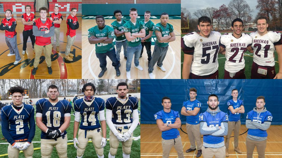 The 2016 All-Record-Journal Football team.