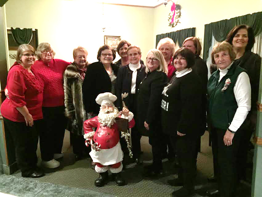 Mary Lou Woods, Donna Fowler, Anita Madzik, Jane Dioguardi, Kathy Kubeck, Sharon Strickland, MaryAnne Combelic, Lois Wetmore, Maggie Perotti, Jane Fowler, Linda Cioffi and Sue Vitcavage.