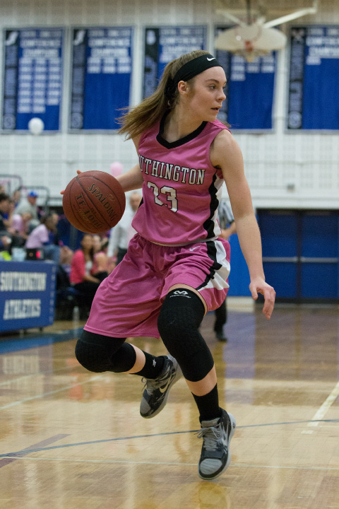 Heartbreaking injury news from Southington, where junior Janette Wadolowski suffered a broken bone in her hand that could cost her the entire basketball season. If so, it would be the All-Record-Journal player's second lost season in three years. | Justin Weekes, Special to the Record-Journal