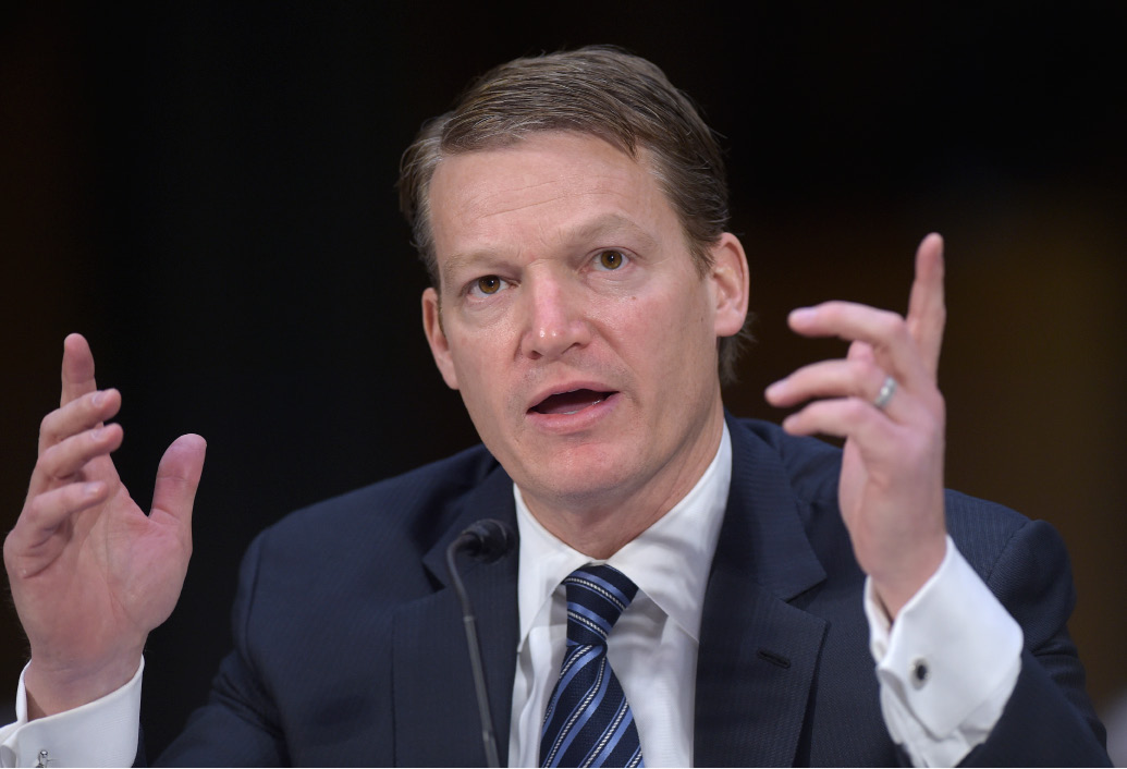 Kevin Mandia, Chief Executive Officer of FireEye, testifies before the Senate Intelligence Committee hearing on Capitol Hill in Washington, Thursday, on Russian intelligence activities. | Associated Press