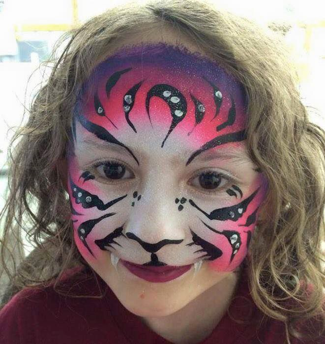 Face painting by Face Candy Art and Entertainment.| Courtesy of Jenna Morin