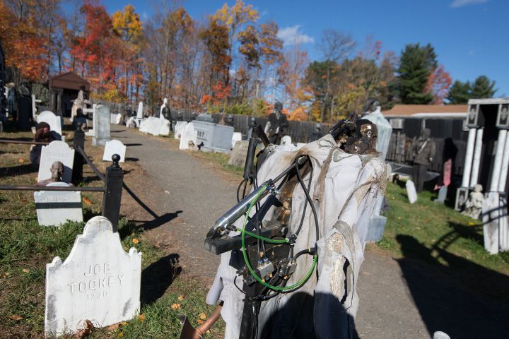 The Haunted Graveyard at Lake Compounce, 186 Enterprise Drive, Bristol.