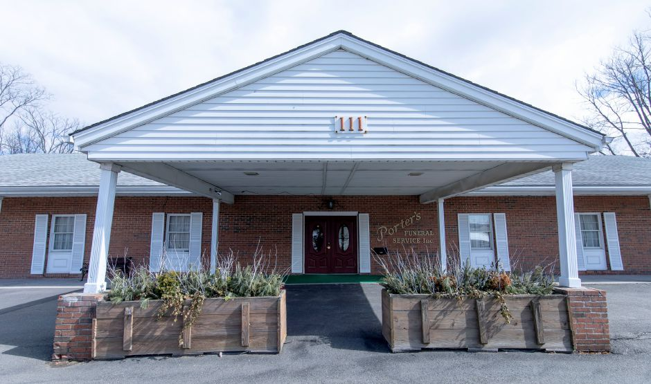Erickson-Hansen Funeral Home of Berlin/Porters on March 12, 2019. The Hansen family purchased the business from Christopher and Peggy Porter, of Berlin, in February after 150 years of family ownership. | Devin Leith-Yessian/Berlin Citizen