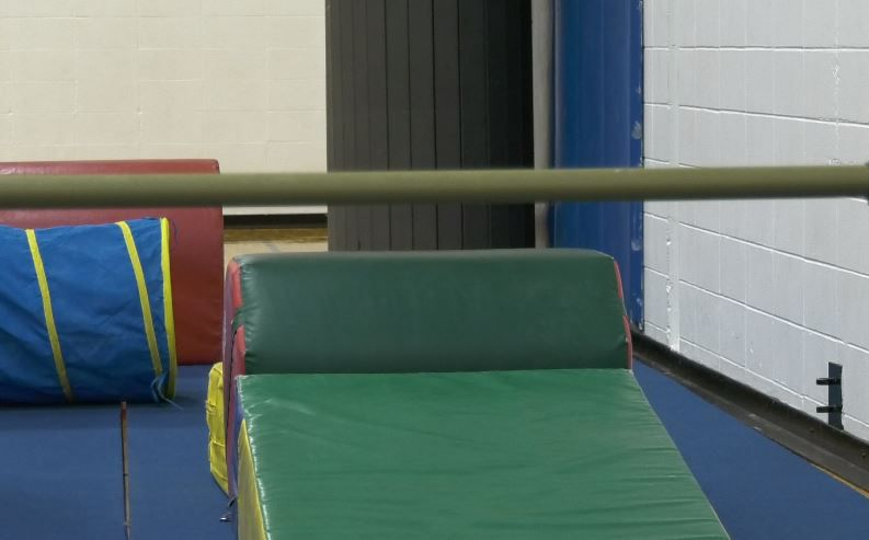 Equipment the new gymnastics program at Wallingford Family YMCA, 81 South Elm Street Wallingford, Dec. 17, 2018. |Ashley Kus, Record-Journal