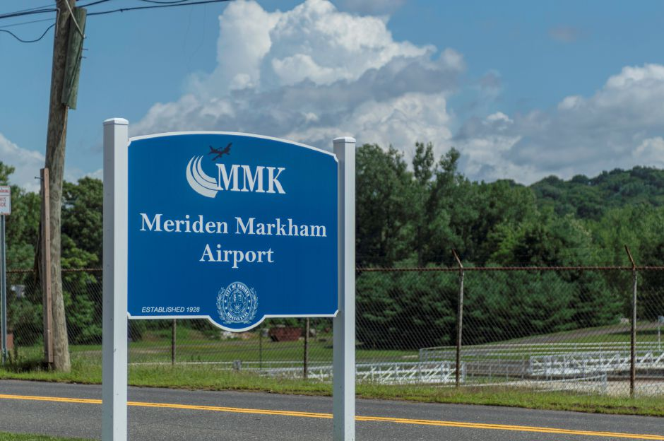 Meriden Markham Airport in Meriden on July 3, 2018 | Andrew Baxter, Special to the Record-Journal