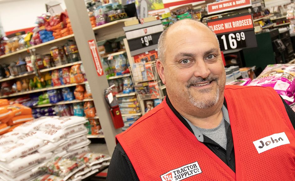 John Cipriano, general manager of the new Tractor Supply Co. at 801 N. Colony Rd. in Wallingford, Mon., Nov. 5, 2018. The business is holding a soft opening this week and will have a grand opening this weekend. Dave Zajac, Record-Journal