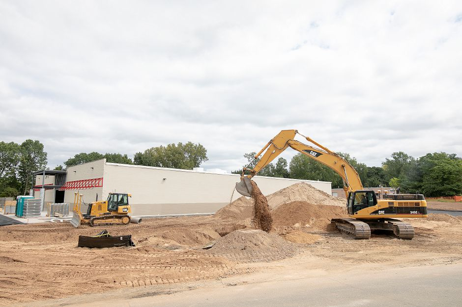 Tractor Supply Co. under construction at 801 N. Colony Rd. in Wallingford, Friday, August 31, 2018. The property is at the intersection of North Colony Road (Route 5) and Beaumont Road, between Walmart and restaurant Rick's on 5. Dave Zajac, Record-Journal