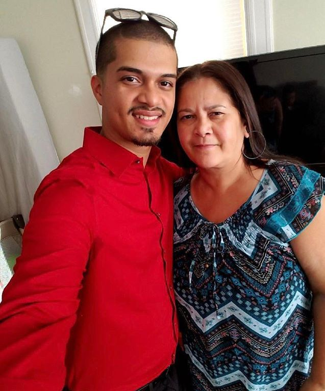 Piano Nieves with his mother, Ivonne Ramirez. Their family lost their home to a fire on Wilcox Avenue in Meriden on Sunday, March 4.  | Photo Courtesy the family's GoFundMe page