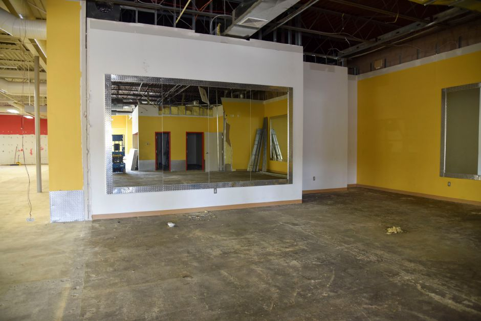 Revolution Fitness Clubs. pictured on Jan. 2, expects to open mid-February at 87 Washington Ave. in North Haven. | Bailey Wright, Record-Journal