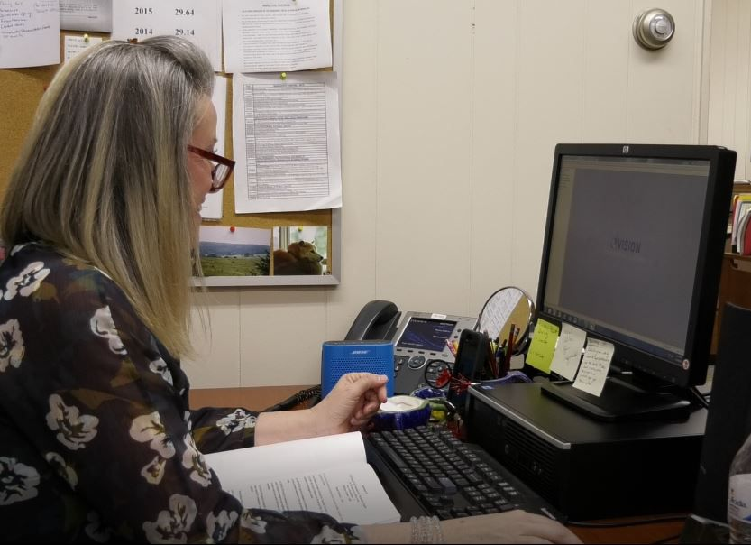 Southington Director of Assessment and Revenue Teresa Babon, Wednesday, March 6, 2019. |Ashley Kus, Record-Journal