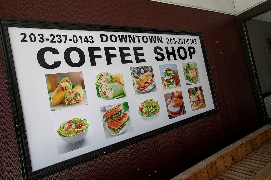 Downtown Coffee Shop, a new business under renovation in the former Cafe Dolce space at 33 W. Main St. in Meriden, Thursday, August 23, 2018. The business opens Monday. Dave Zajac, Record-Journal