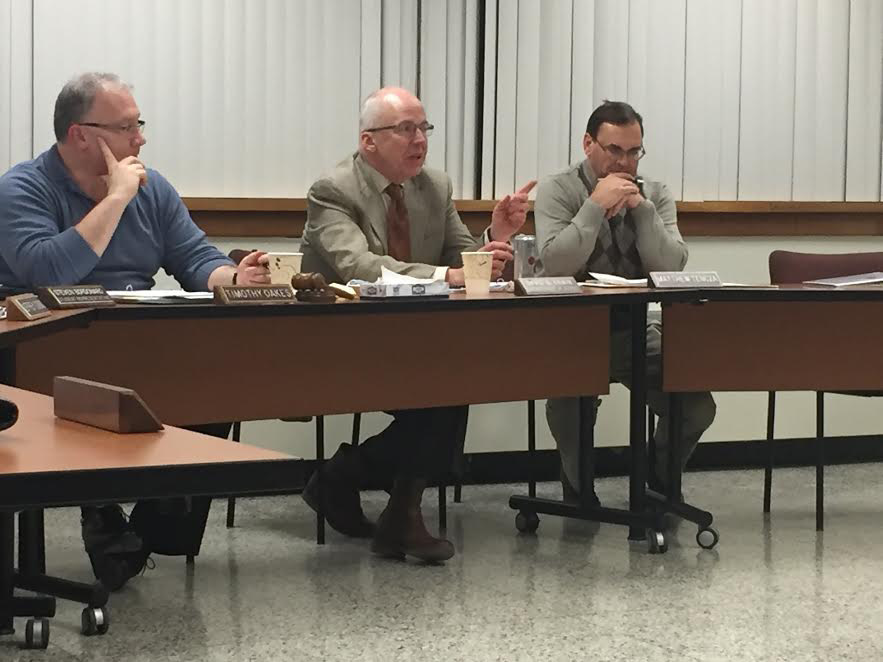 Berlin BOE discussed budget items with the district principals, Tuesday, Jan. 11. | Ashley Kus, The Berlin Citizen
