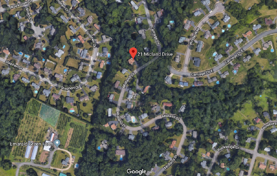 The Meriden Fire Department responded to 21 Midland Drive for reports a lightning strike hit the home Tuesday evening. | Bailey Wright, Record-Journal