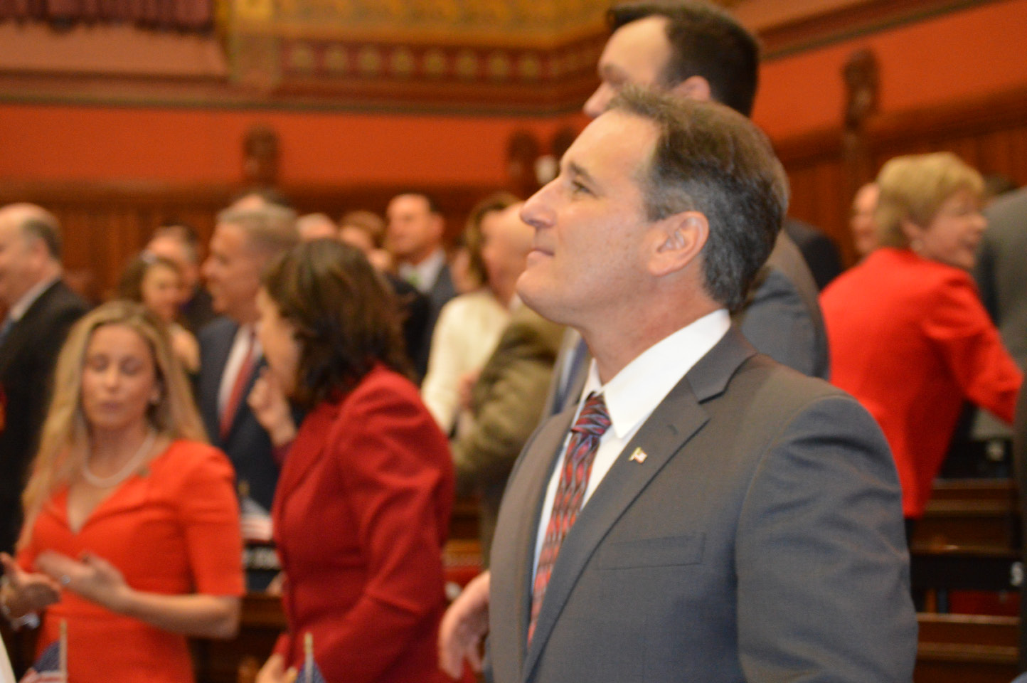 State Rep. John Fusco on the first day of the legislative session on Wednesday, Jan. 4, 2017. | Mike Savino, Record-Journal