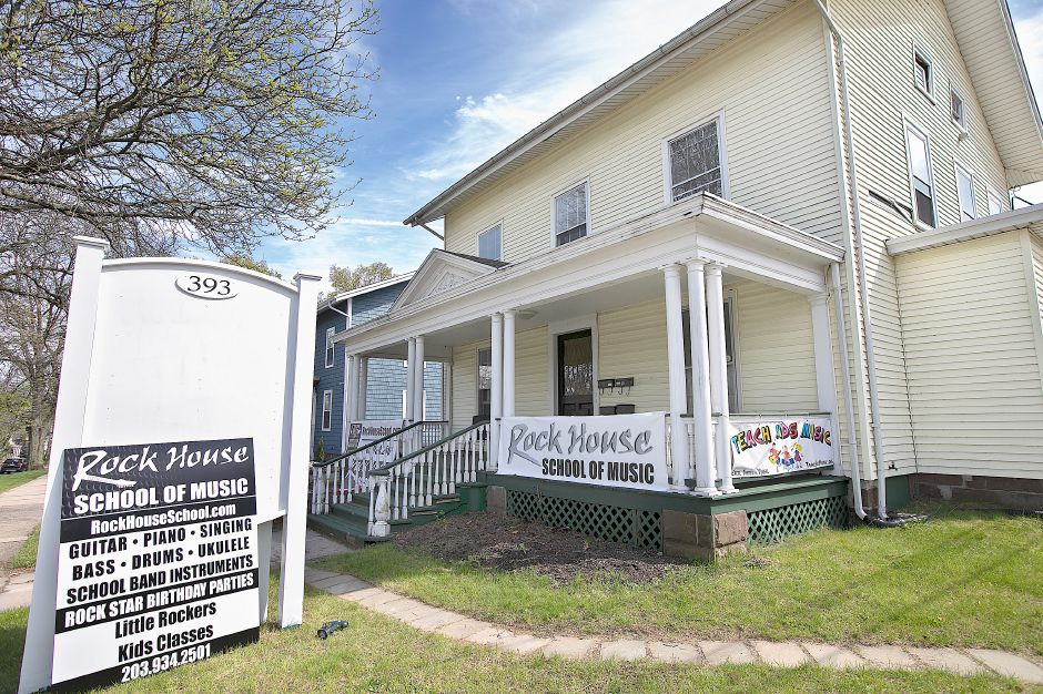 Rock House School of Music, a new business, 393 Center St., Wallingford, Tues., May 7, 2019. Dave Zajac, Record-Journal