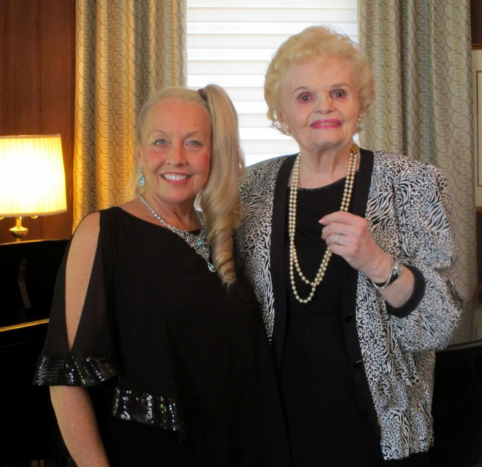 Nancy Stewart, Artist Director of the GHOE and Bradley Home resident Virginia Gordoni, World Renowned Opera star.