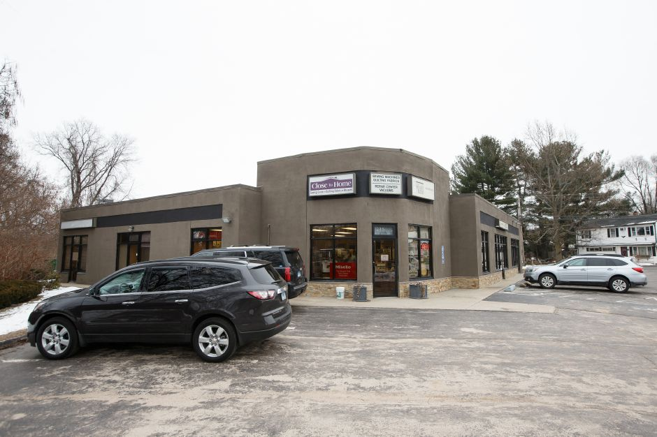 A Pharmacy owner is seeking approval for a medical marijuana dispensary on Queen Street Monday at 995 Queen Street in Southington February 19, 2018 | Justin Weekes / Special to the Record-Journal