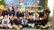 Grade 1 in front of Sikorsky's wind tunnel