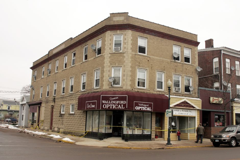 The old Wallingford Optical at 58 Center St.