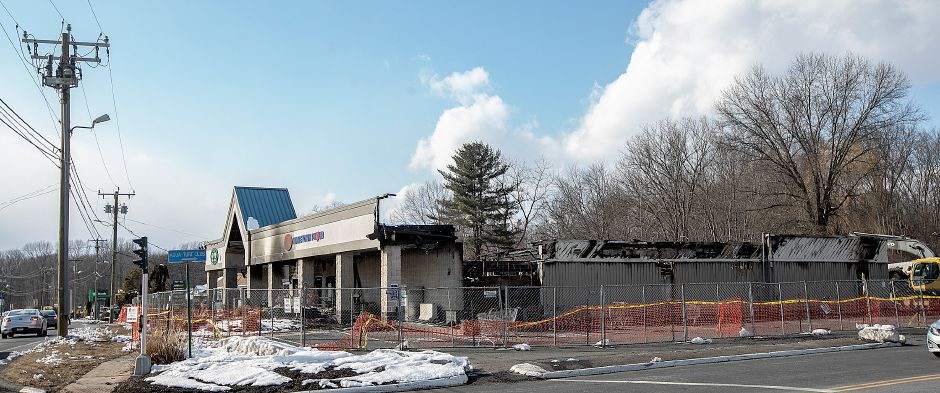 The former Tops Market in Southington, Thurs., Mar. 7, 2019. The business was destroyed by a blaze on Sunday. Dave Zajac, Record-Journal