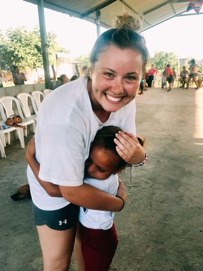 Southington's Hayley Arduini volunteered for 10 days building a house in Nicaragua this spring after graduating from Endicott College. She was a standout softball player at Southington High and Endicott.